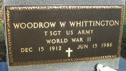 "TSGT Woodrow Wilson ""Woodie"" Whittington"