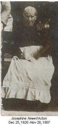 Josephine <I>Newell</I> Acton