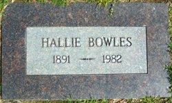 Hallie Bowles