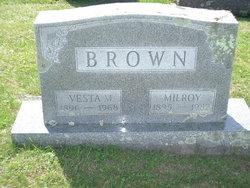 Vesta Mae <I>O'Dell</I> Brown