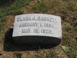 Clara Julia <I>Trindall</I> Gannett