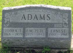 Flora J. Adams
