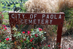 Paola Cemetery