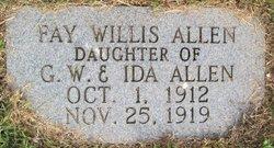 Fay Willis Allen