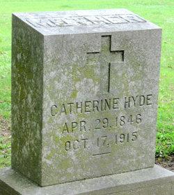 Catherine <I>Higgins</I> Hyde