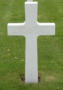 PFC Albert L Fonteyn