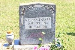Annie Mae <I>Hendrix</I> Clark