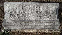 Sallye <I>Simpson</I> Currey