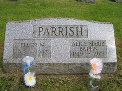 Alice Marie <I>Battin</I> Parrish