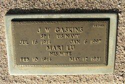 J W Gaskins