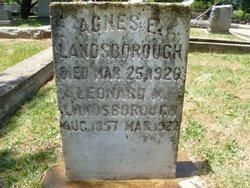 Leonard Modrahan Landsborough