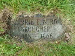 Carrie L <I>Burd</I> Brougher