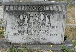 """William Palmer """"Willie"""" Carson"""
