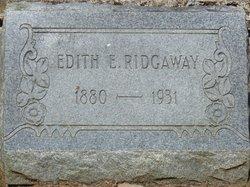 Edith <I>Enus</I> Ridgaway