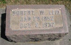 Robert W Leid