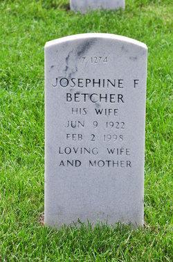 Josephine F Betcher
