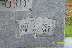 Estol Vernon Stafford
