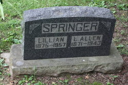 "Mary Lillian ""Lillie"" <I>Thompson</I> Springer"