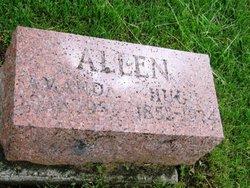 Amanda D. <I>Howell</I> Allen