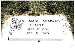 Jane Marie <I>Shapard</I> Lengel