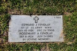 Rosemary A Findlay