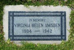 Virginia Helen <I>Edwards</I> Amsden