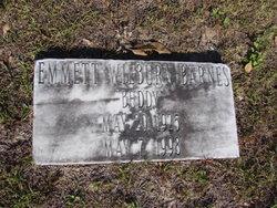 "Emmett Wilburn ""Buddy"" Barnes"