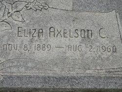 Annie Eliza <I>Axelson</I> Dalton