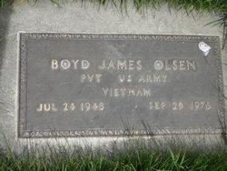 Boyd James Olsen