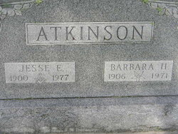 Barbara H. <I>Connelly</I> Atkinson