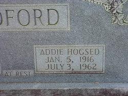 Addie <I>Hogsed</I> Ledford