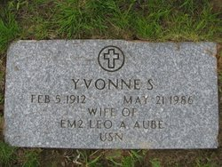 Yvonne S. <I>Michaud</I> Aube