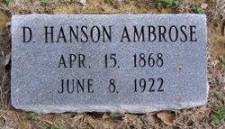Demetrius Hanson Ambrose