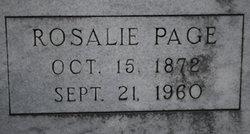 Rosalie <I>Page</I> Nunn