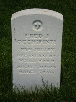 PFC Fred J. Occhipinti