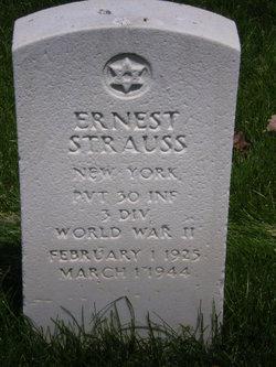 Pvt Ernest Strauss
