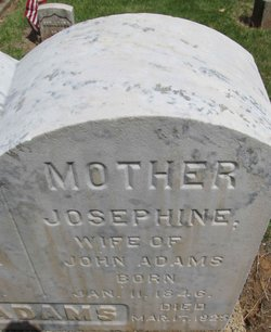 Josephine Amelia <I>Tyler</I> Adams