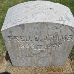 "Frederick E. ""Fred"" Adams"
