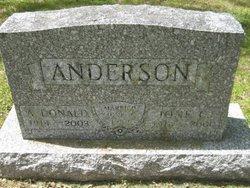 A. Donald Anderson
