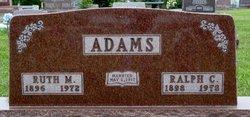 Ruth <I>Miller</I> Adams