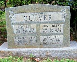 June Betsy <I>Fain</I> Culver