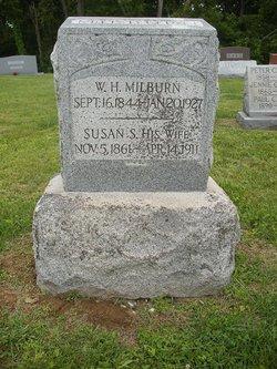 "Susan Sidney ""Sudie"" <I>Kimberlin</I> Milburn"