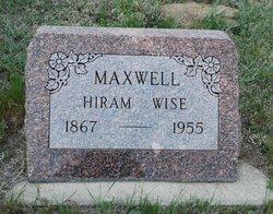 """Hiram Wise """"Hi"""" Maxwell"""