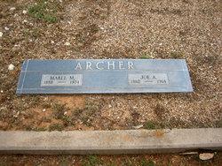 "Joseph Asa ""Joe"" Archer"