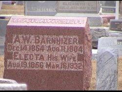 Electa Jane <I>Davis</I> Barnhizer