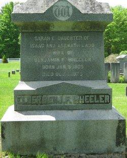 Elder Benjamin F Wheeler