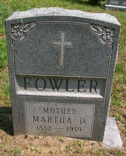 Martha D <I>Cochran</I> Fowler