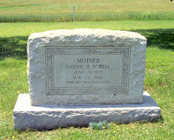 Nannie B Powell