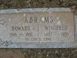 Winifred Catherine <I>Kearns</I> Abrams