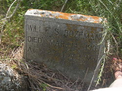 Willie S Bozeman